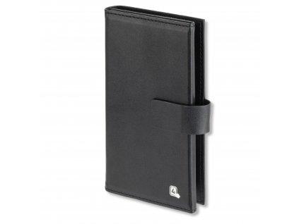 4smarts UltiMAG Card Book WALSTREET Univerzální 5.2, cerná