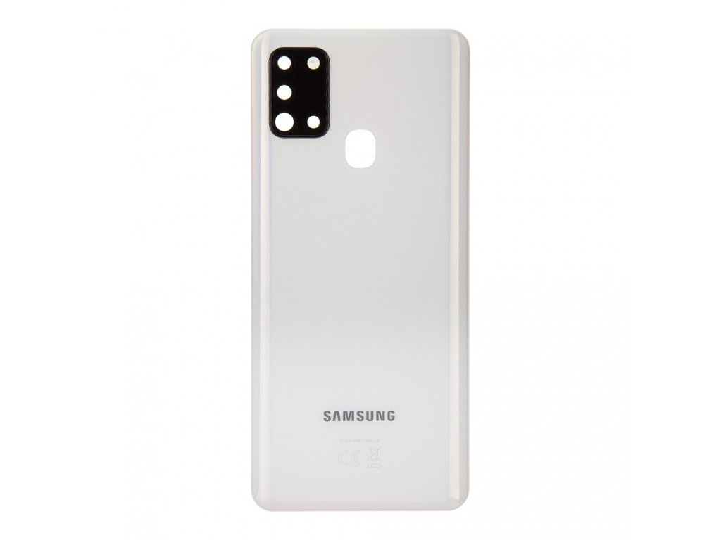 Samsung A217F Galaxy A21s Kryt Baterie White (Service Pack)