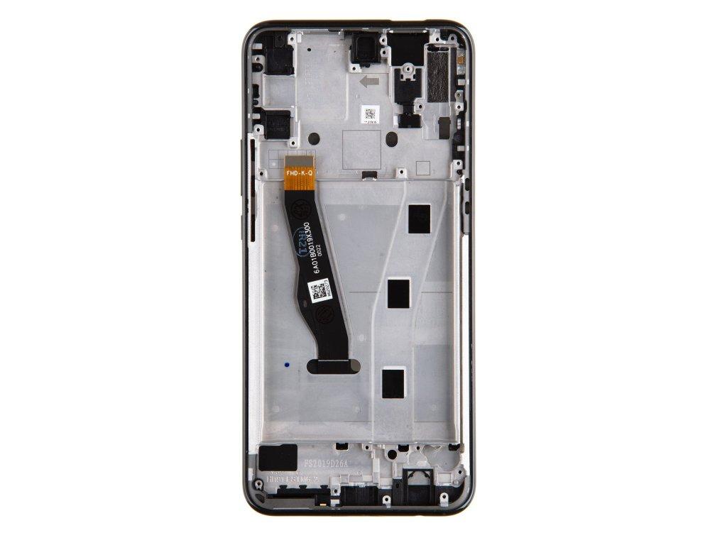 Huawei P Smart Z LCD Display + Dotyková Deska + Přední Kryt Black
