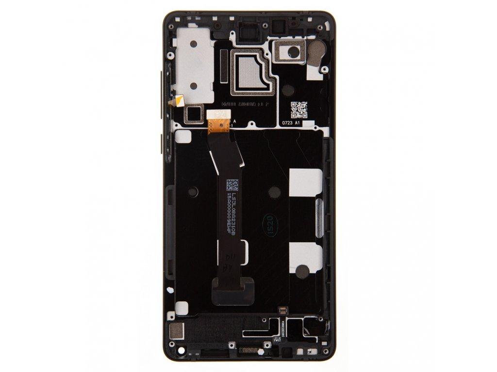 LCD Display + Dotyková Deska + Přední Kryt pro Xiaomi Mi Mix 2S Black (Service Pack)