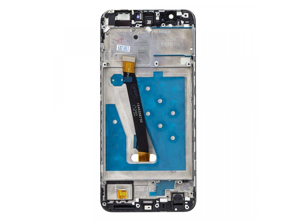 Huawei P Smart LCD Display + Dotyková Deska + Přední Kryt Black