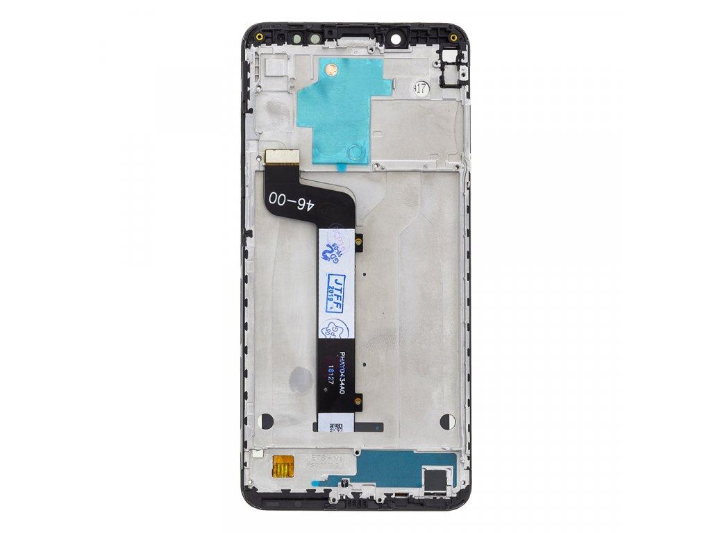 LCD Display + Dotyková Deska + Přední Kryt pro Xiaomi Redmi Note 5 Black