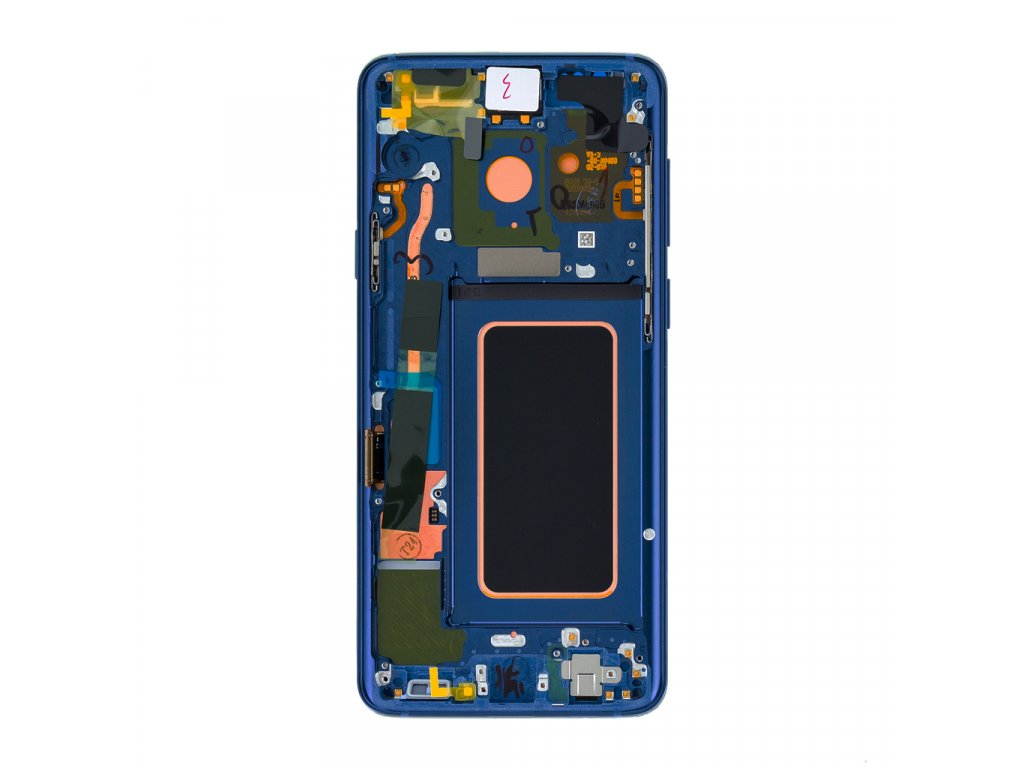 LCD display + Dotyk Samsung G965 Galaxy S9+ Plus Blue (Service Pack)