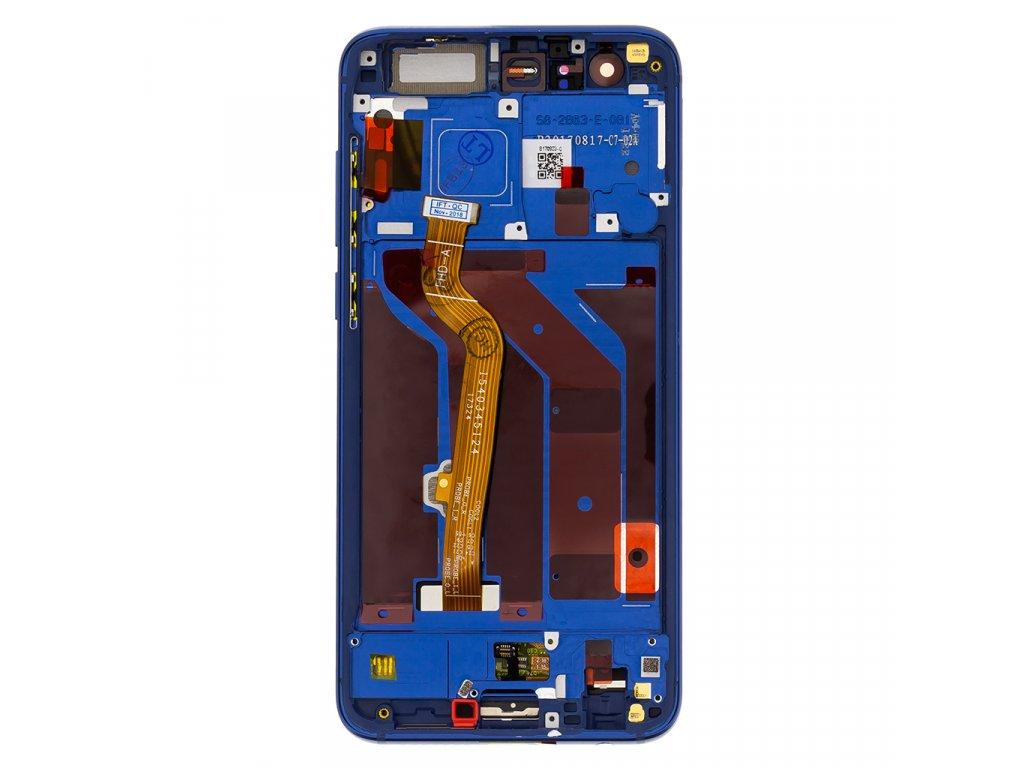 Honor 9 LCD Display + Dotyková Deska + Přední Kryt Blue STF-L09