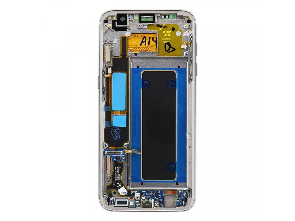 LCD display + Dotyk Samsung G935 Galaxy S7 Edge Gold (Service Pack)