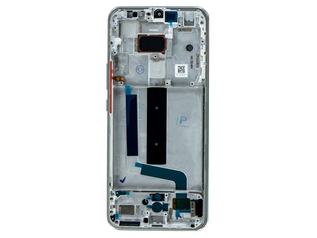 LCD Display + Dotyková Deska + Přední Kryt pro Xiaomi Mi 10 Lite Dream White