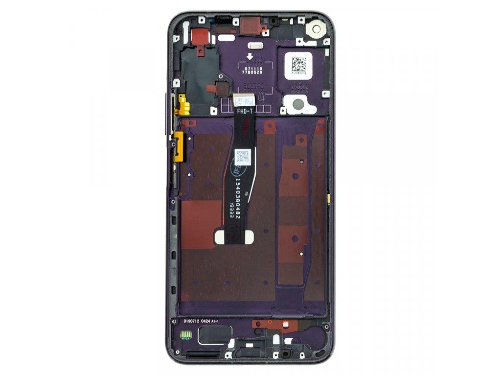 Honor 20 Pro LCD Display + Dotyková Deska + Přední Kryt Black
