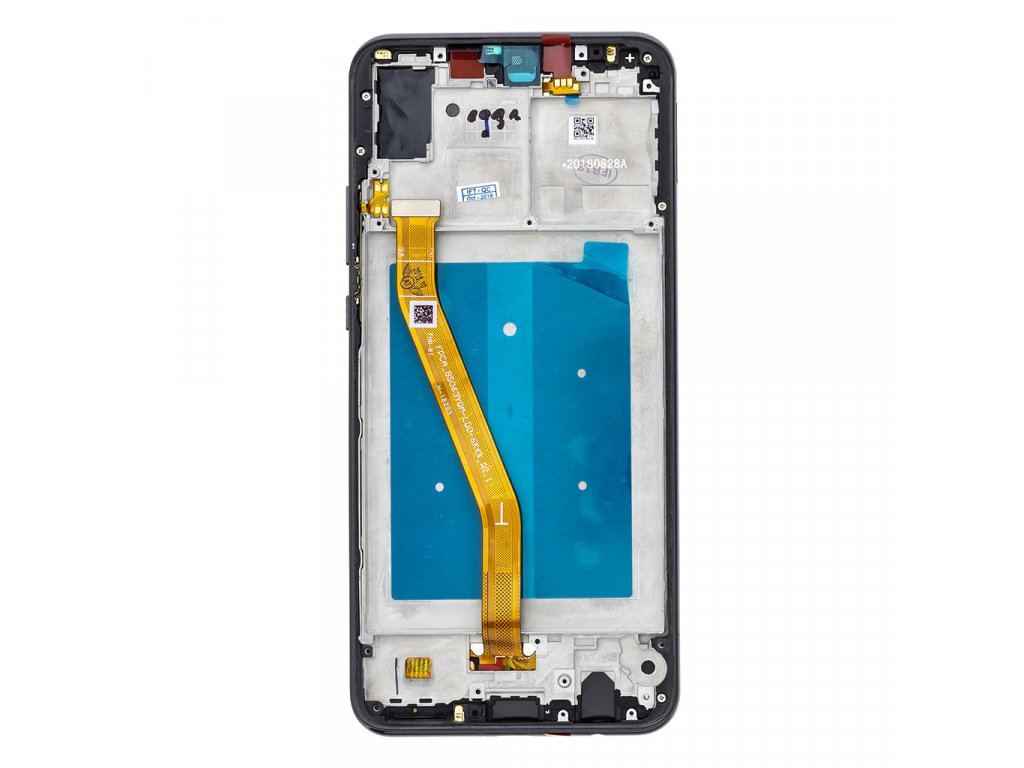Huawei Nova 3 LCD Display + Dotyková Deska + Přední Kryt Black