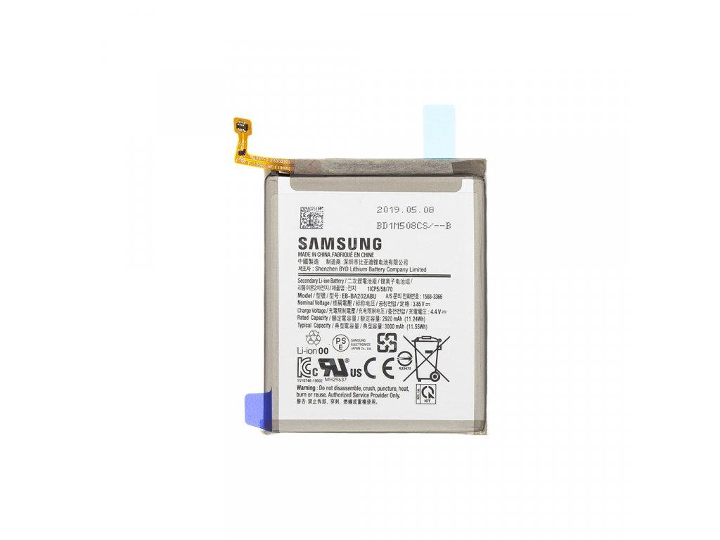 Originální baterie Samsung Galaxy A20e - EB-BA202ABU Li-Pol 3000mAh (Service Pack)