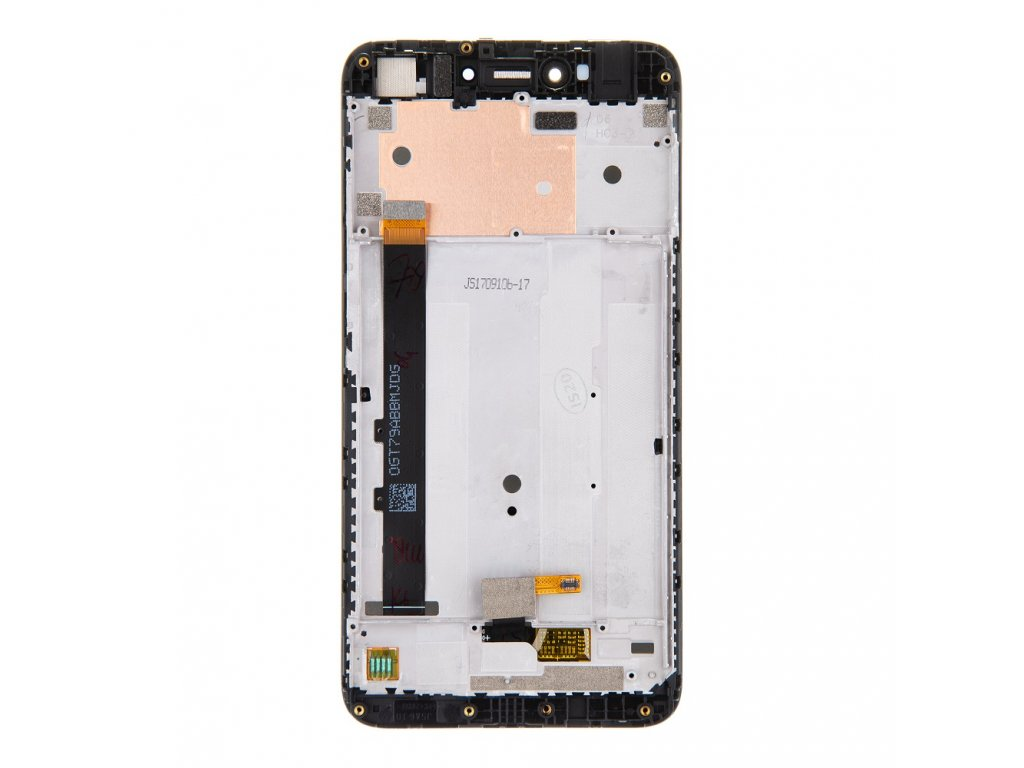 LCD Display + Dotyková Deska + Přední Kryt pro Xiaomi Redmi Note 5A Black (Service Pack)