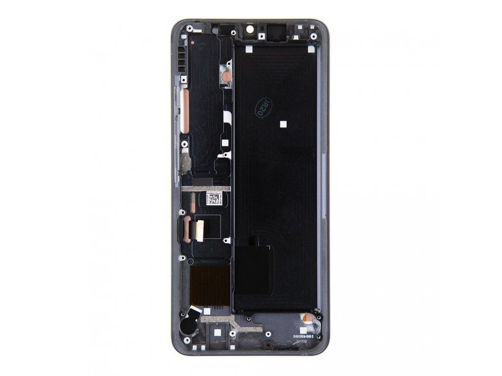 LCD Display + Dotyková Deska + Přední Kryt pro Xiaomi Mi Note 10 Black