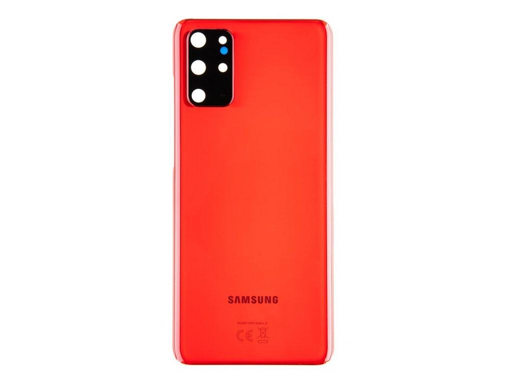 Samsung G986 Galaxy S20+ Plus Kryt Baterie Aura Red (Service Pack)