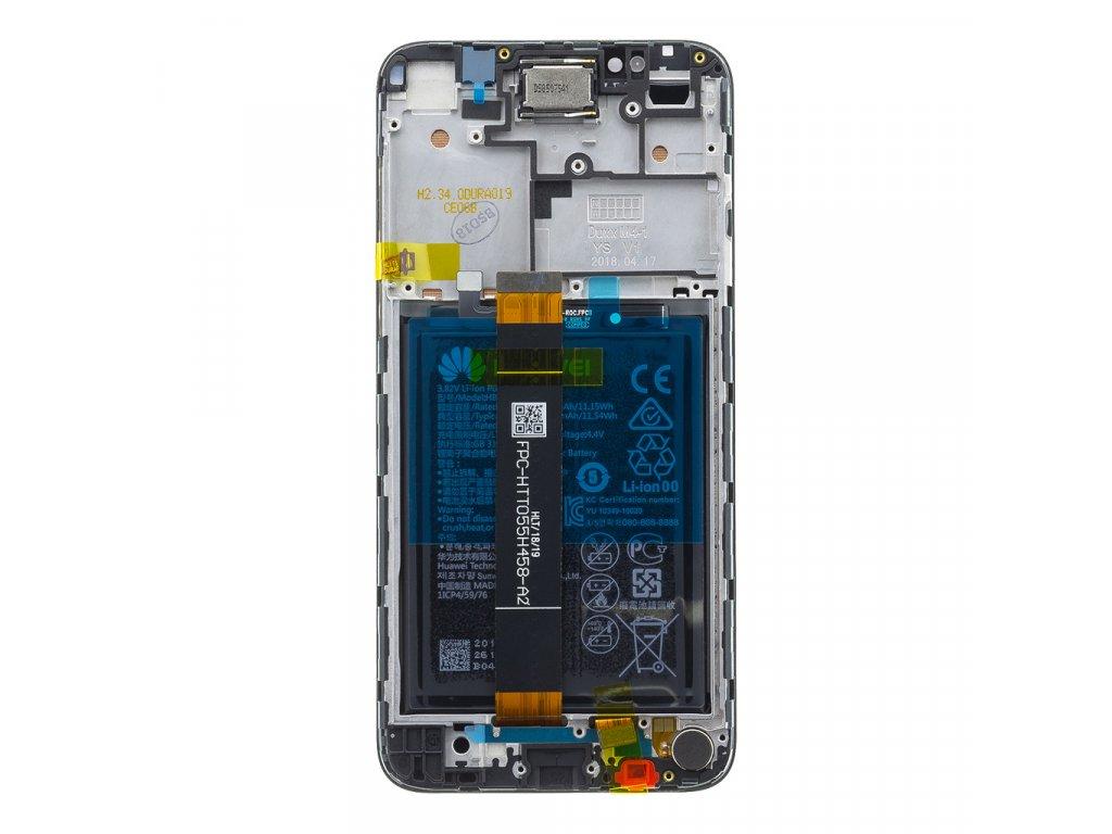 Honor 7S LCD Display + Dotyková Deska + Přední Kryt Black DUA-L22 (Service Pack)