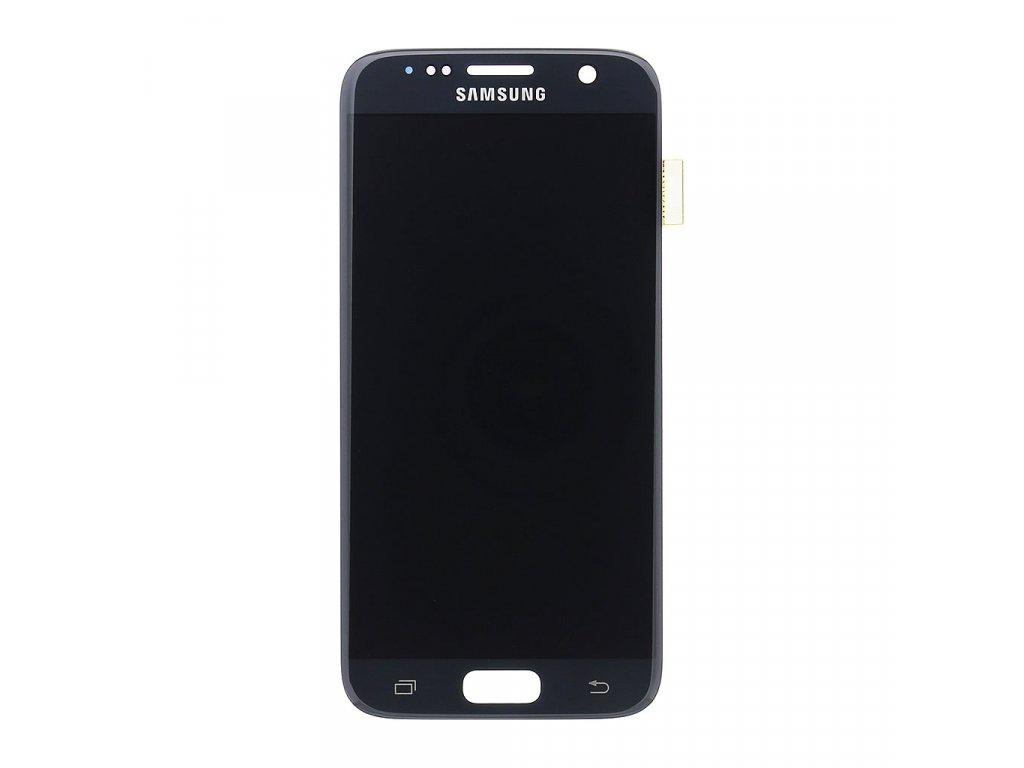 LCD display + Dotyk Samsung G930 Galaxy S7 Black (Service Pack)