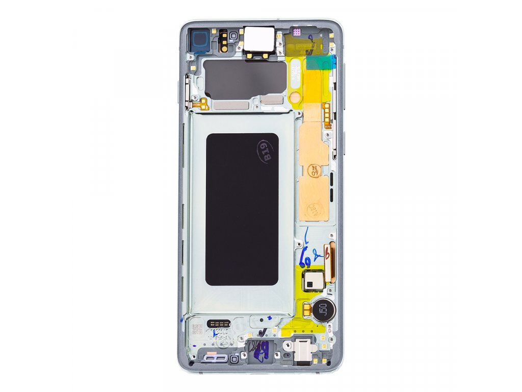 LCD display + Dotyk Samsung G973 Galaxy S10 Green (Service Pack)