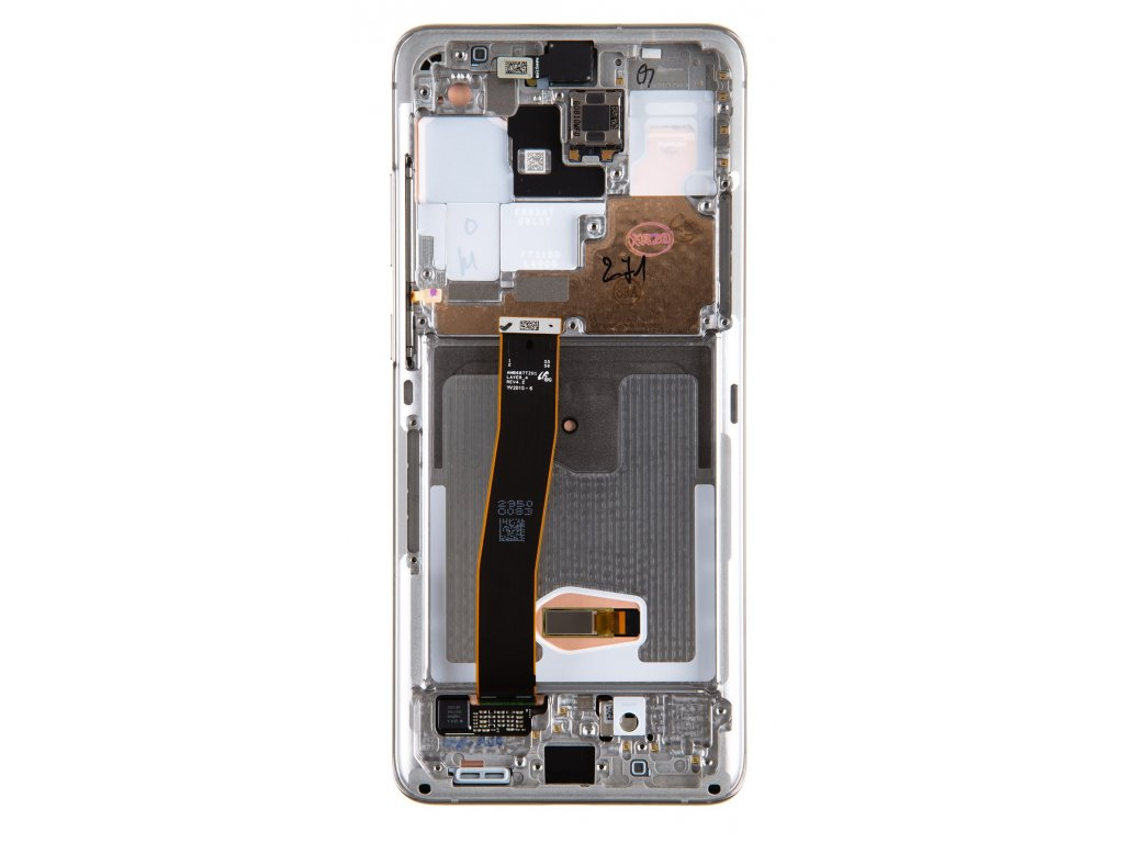 LCD display + Dotyk Samsung G988 Galaxy S20 Ultra White (Service Pack)