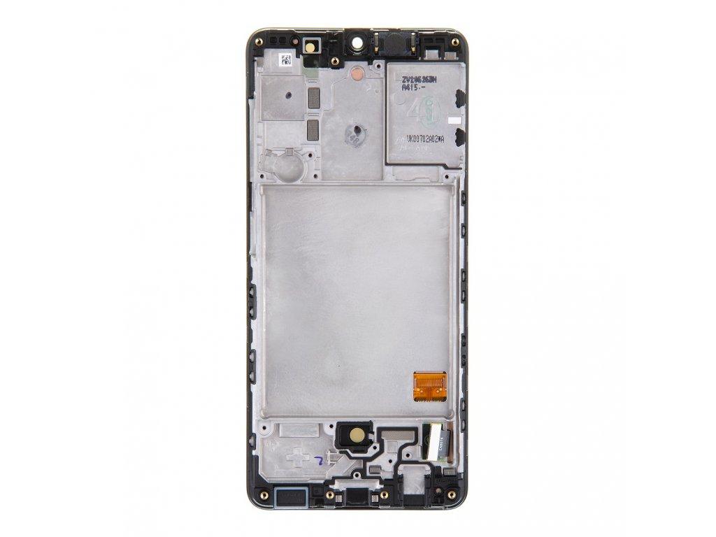 LCD display + Dotyk Samsung A415F Galaxy A41 Black (Service Pack)