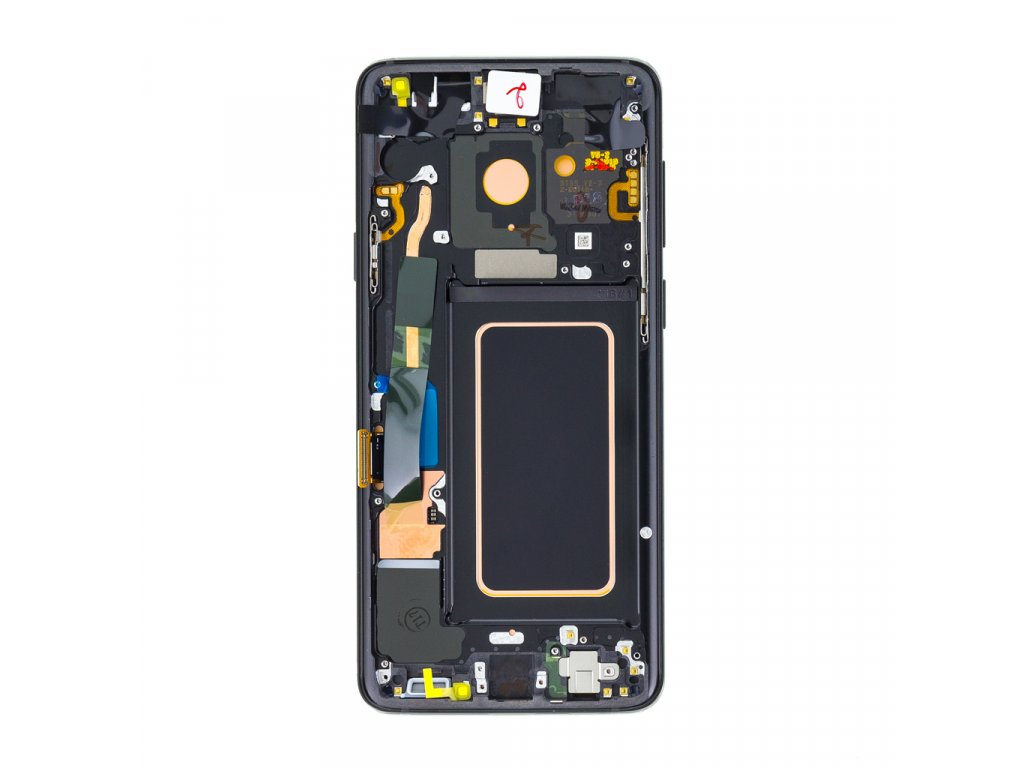 LCD display + Dotyk Samsung G965 Galaxy S9+ Plus Black (Service Pack)