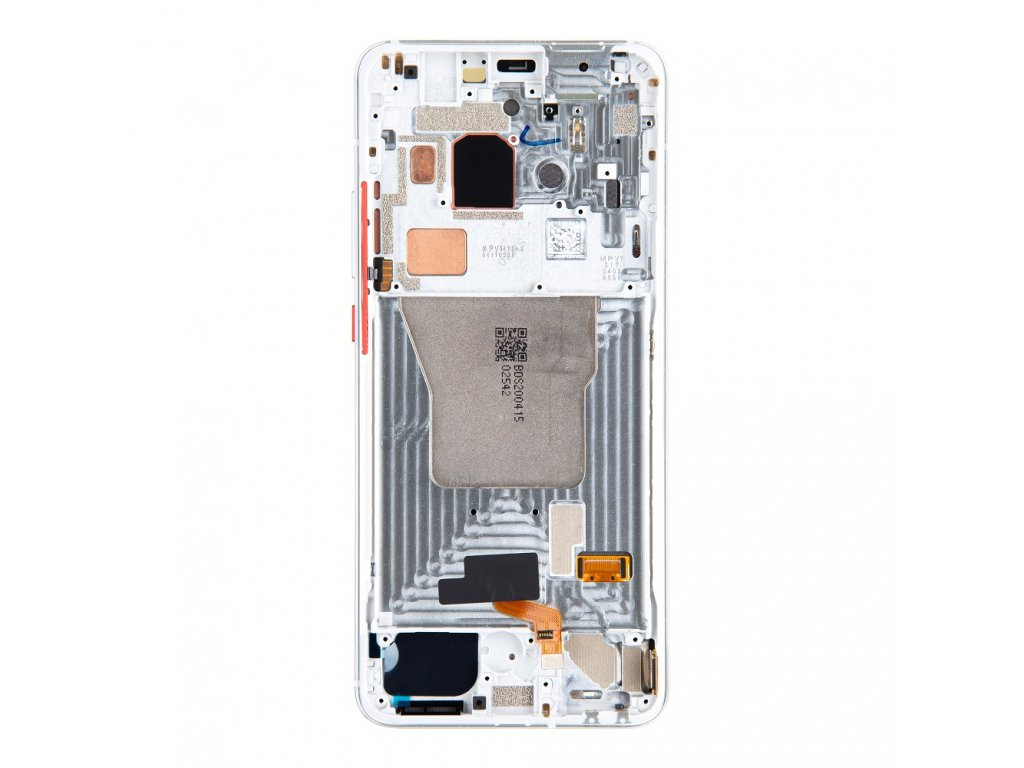 LCD Display + Dotyková Deska + Přední Kryt pro Xiaomi Poco F2 Pro Phantom White (Service Pack)