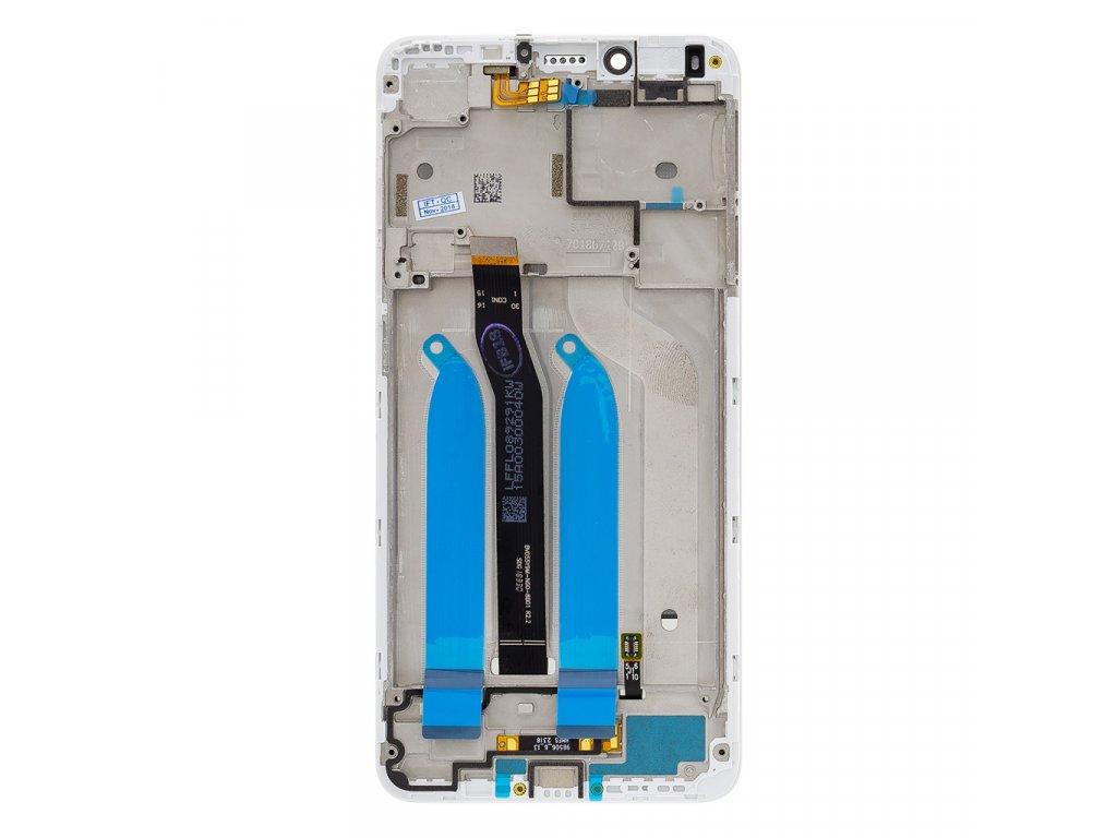 LCD Display + Dotyková Deska + Přední Kryt pro Xiaomi Redmi 6/6A White