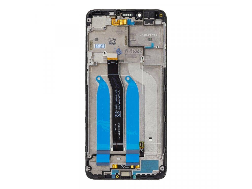 LCD Display + Dotyková Deska + Přední Kryt pro Xiaomi Redmi 6/6A Black