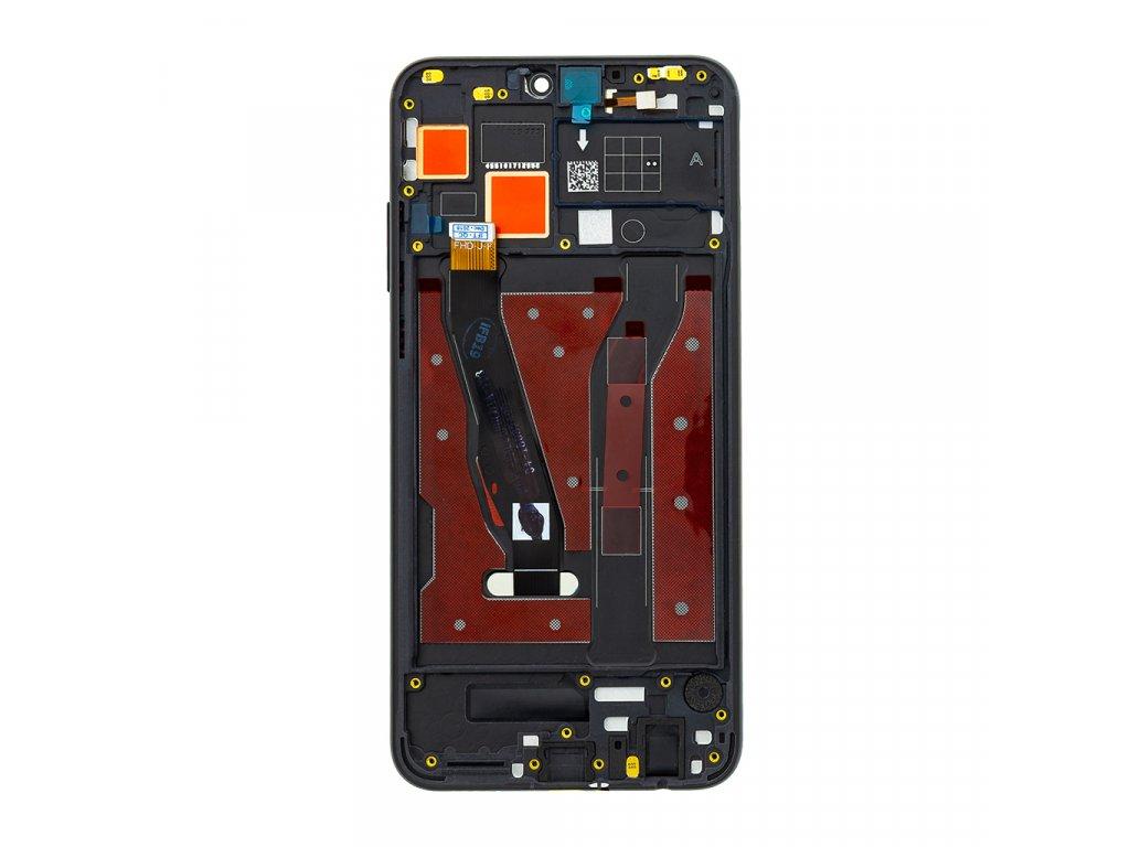 Honor 8X LCD Display + Dotyková Deska + Přední Kryt Black JSN-L21