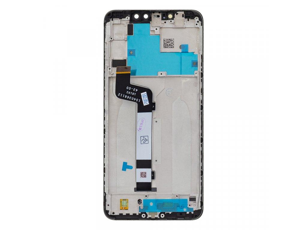 LCD Display + Dotyková Deska + Přední Kryt pro Xiaomi Redmi Note 6 Pro Black