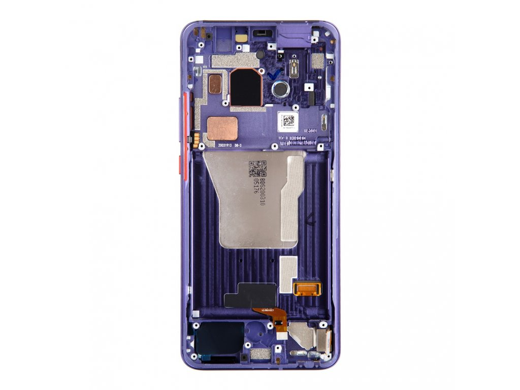 LCD Display + Dotyková Deska + Přední Kryt pro Xiaomi Poco F2 Pro Electric Purple (Service Pack)