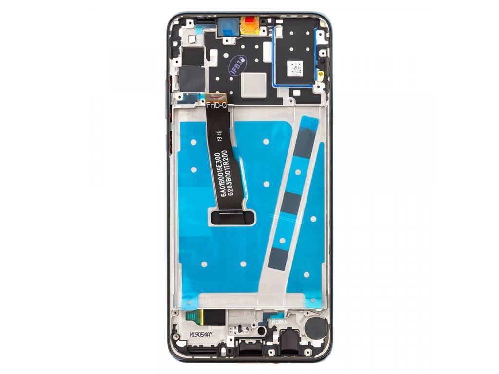 Huawei P30 Lite LCD Display + Dotyková Deska + Přední Kryt Black (pro 48MP foto)