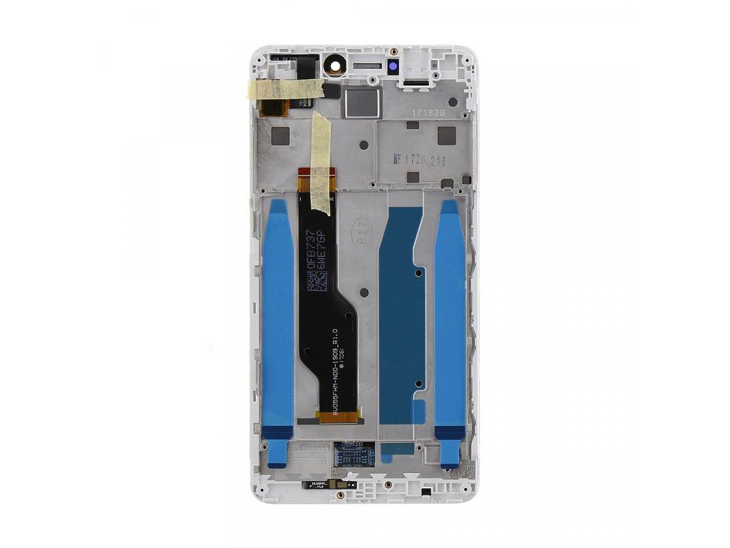 LCD Display + Dotyková Deska + Přední Kryt pro Xiaomi Redmi Note 4 Global White