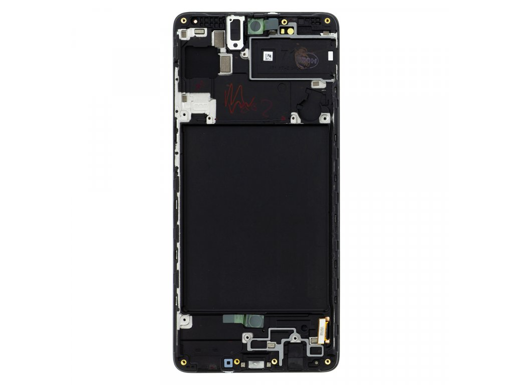 LCD display + Dotyk Samsung A715 Galaxy A71 Black (Service Pack)