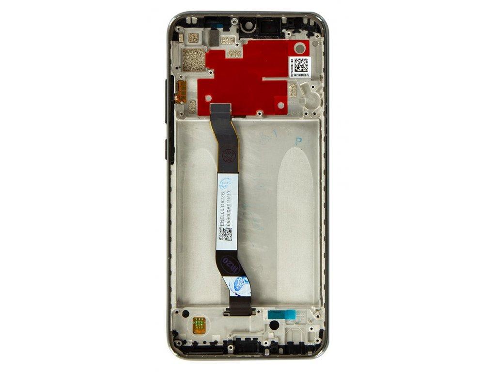 LCD Display + Dotyková Deska + Přední Kryt pro Xiaomi Redmi Note 8T Black