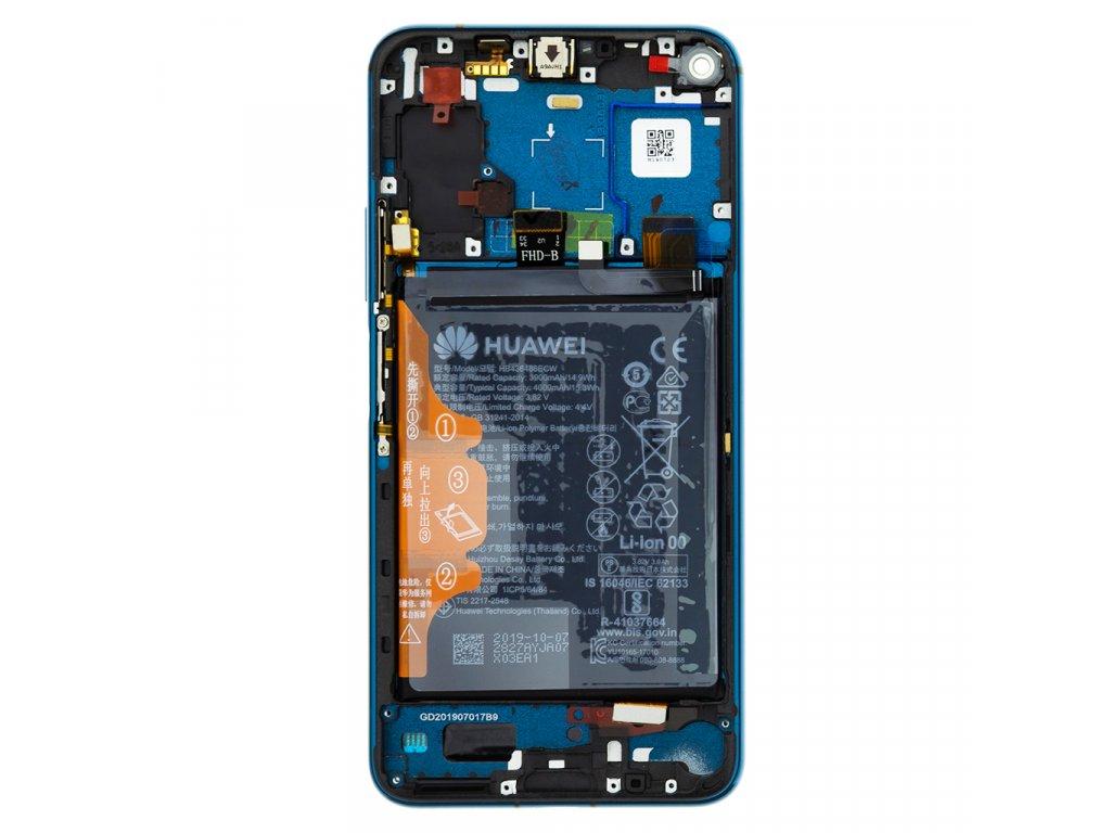 Honor 20 Pro LCD Display + Dotyková Deska + Přední Kryt Green YAL-AL10 (Service Pack)