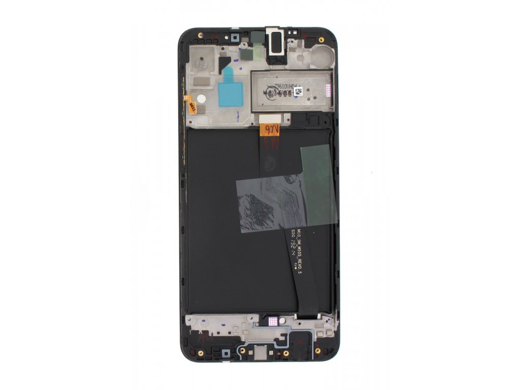 LCD display + Dotyk Samsung A105 Galaxy A10 Black (Service Pack)
