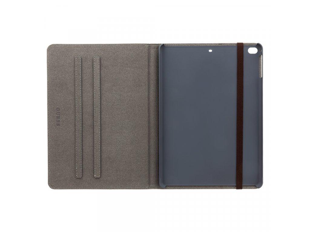 GUFCPP10QGB Guess 4G Folio Pouzdro pro iPad Air 2 9.7 2019 Black/Brown