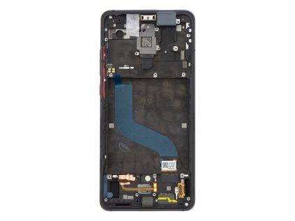 LCD Display + Dotyková Deska + Přední Kryt pro Xiaomi Mi9T/Mi9T Pro Black (Service Pack)