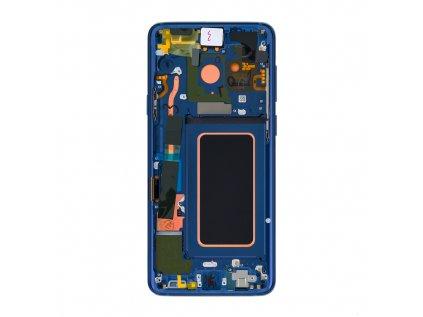 LCD display + Dotyk Samsung G965 Galaxy S9+ Plus Blue (Service Pack)
