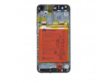 Huawei P10 Lite LCD Display + Dotyková Deska + Přední Kryt Black (Service Pack)