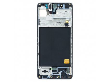 LCD display + Dotyk Samsung A515 Galaxy A51 Black (Service Pack)