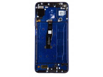 Huawei Nova 5T LCD Display + Dotyková Deska + Přední Kryt Purple