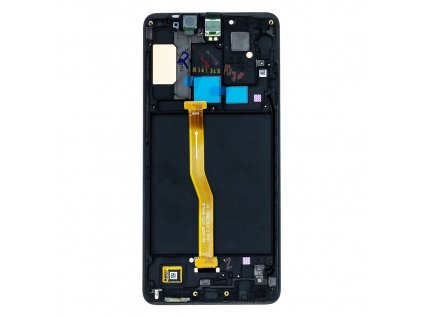 LCD display + Dotyk Samsung A920 Galaxy A9 2018 Black (Service Pack)