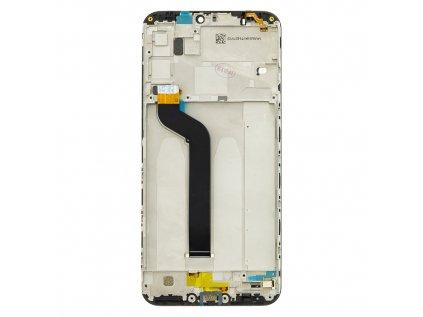 LCD Display + Dotyková Deska + Přední Kryt pro Xiaomi Mi A2 Lite Black