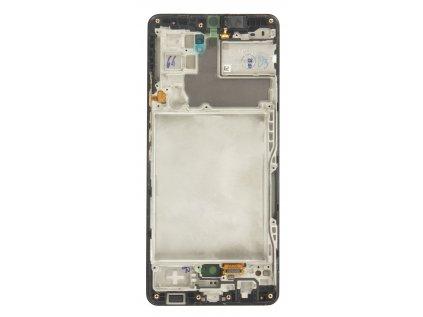 LCD display + Dotyk + Přední Kryt Samsung A426B Galaxy A42 5G Black (Service Pack)