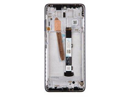 LCD Display + Dotyková Deska + Přední Kryt pro Xiaomi Mi 10T Lite Atlantic Blue