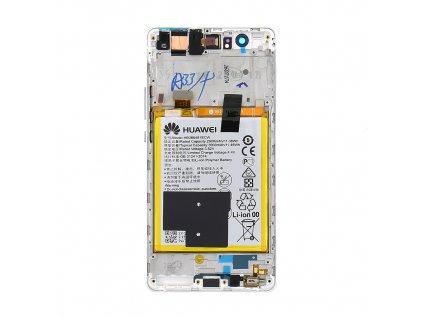 Huawei P9 Lite LCD Display + Dotyková Deska + Přední Kryt White (Service Pack)