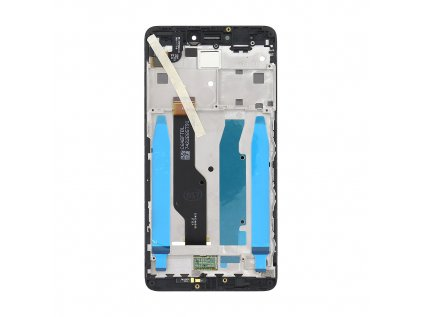 LCD Display + Dotyková Deska + Přední Kryt pro Xiaomi Redmi Note 4 Global Black