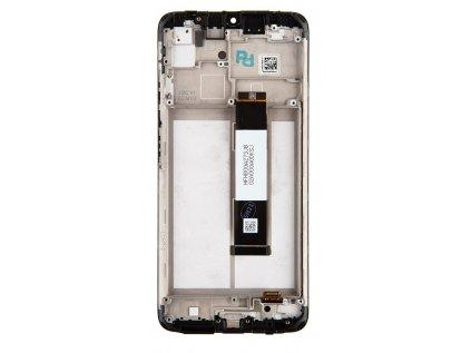 LCD Display + Dotyková Deska + Přední Kryt pro Xiaomi Poco M3 Black (Service Pack)