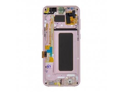 LCD display + Dotyk Samsung G955 Galaxy S8+ Plus Pink (Service Pack)