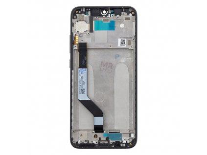 LCD Display + Dotyková Deska + Přední Kryt pro Xiaomi Redmi Note 7 Black (Service Pack)