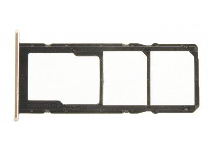 Huawei P Smart 2021 Držák SIM Karty Blush Gold (Service Pack)